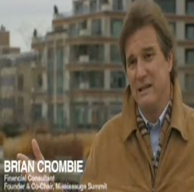 Brian Crombie - Community & The Power of Co Mississauga Summit TVO (Video)